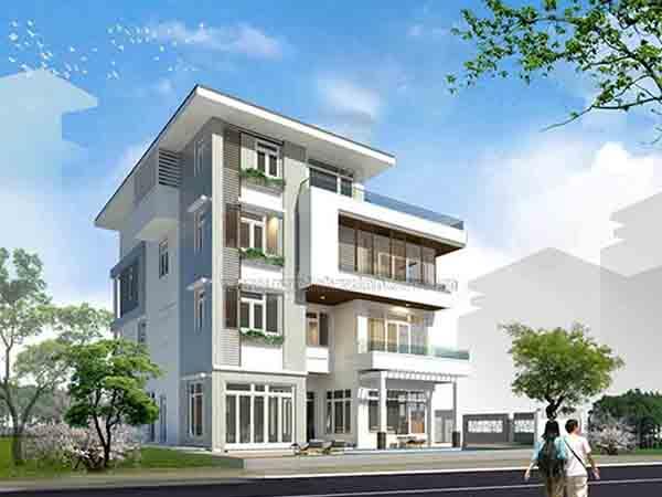 Xây dựng biệt thự Quận 3