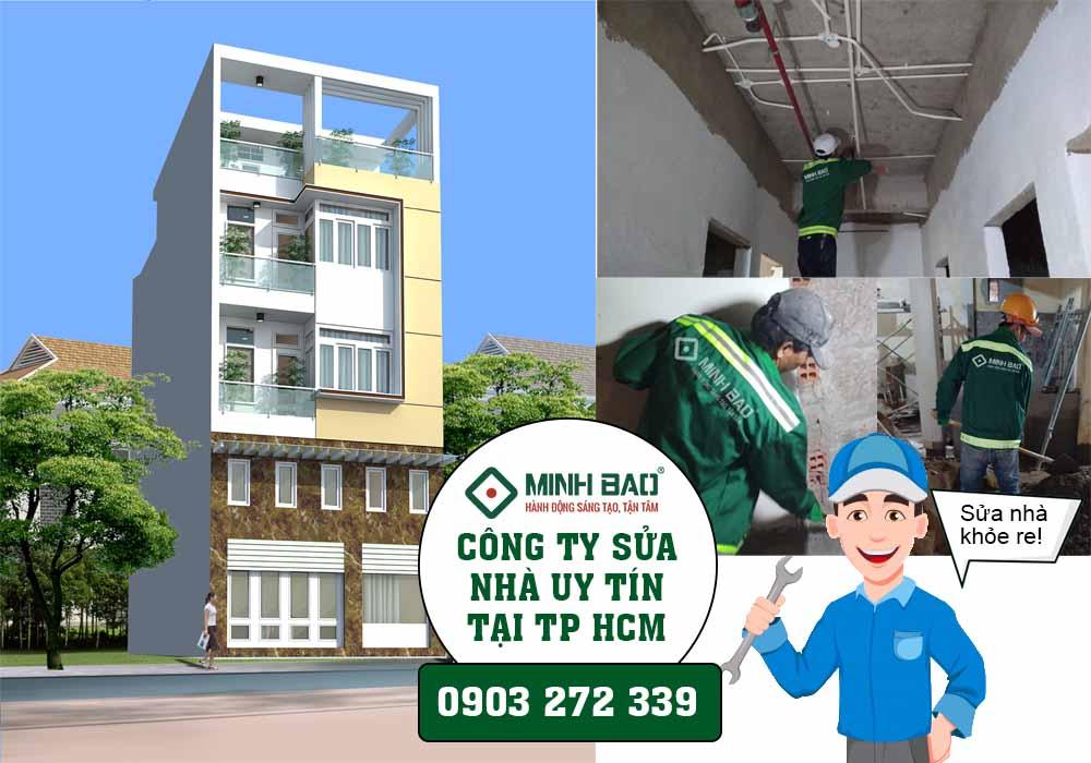 Công ty sửa chữa nhà uy tín tại TP HCM