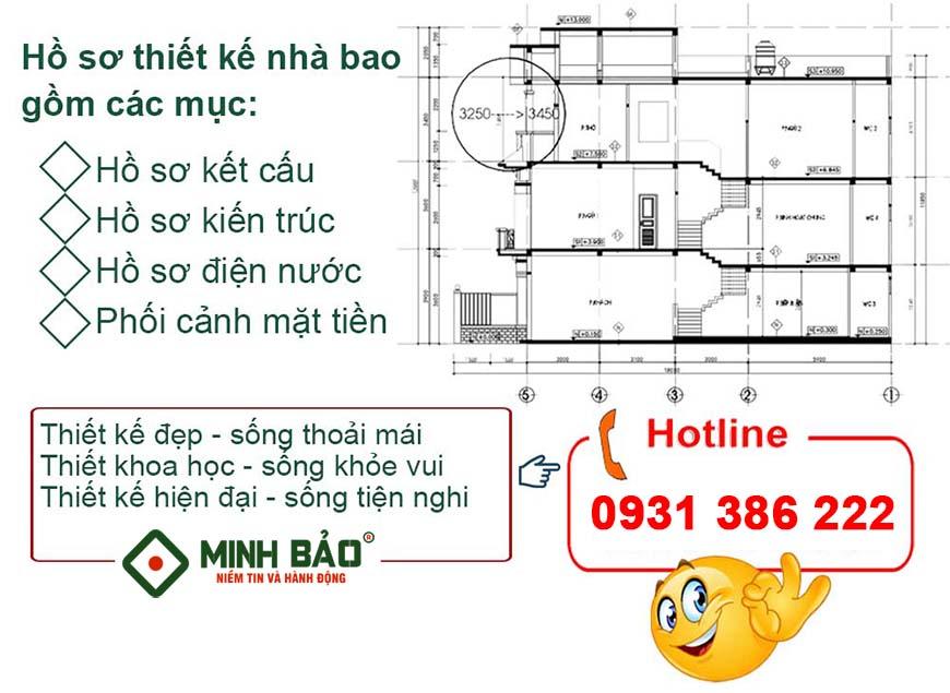 Hồ sơ thiết kế nhà