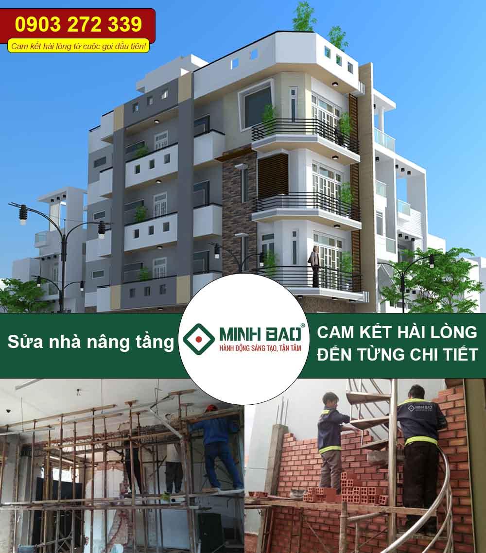 Dịch vụ sửa chữa, cải tạo, nâng tầng nhà ở