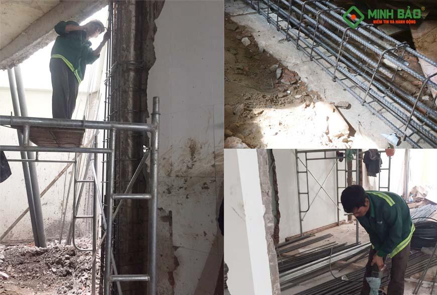 sửa chữa, cải tạo, nâng tầng nhà ở