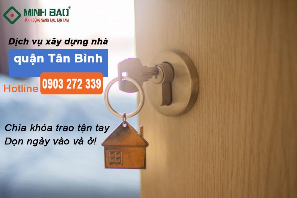 Dịch vụ xây dựng nhà quận Tân Bình