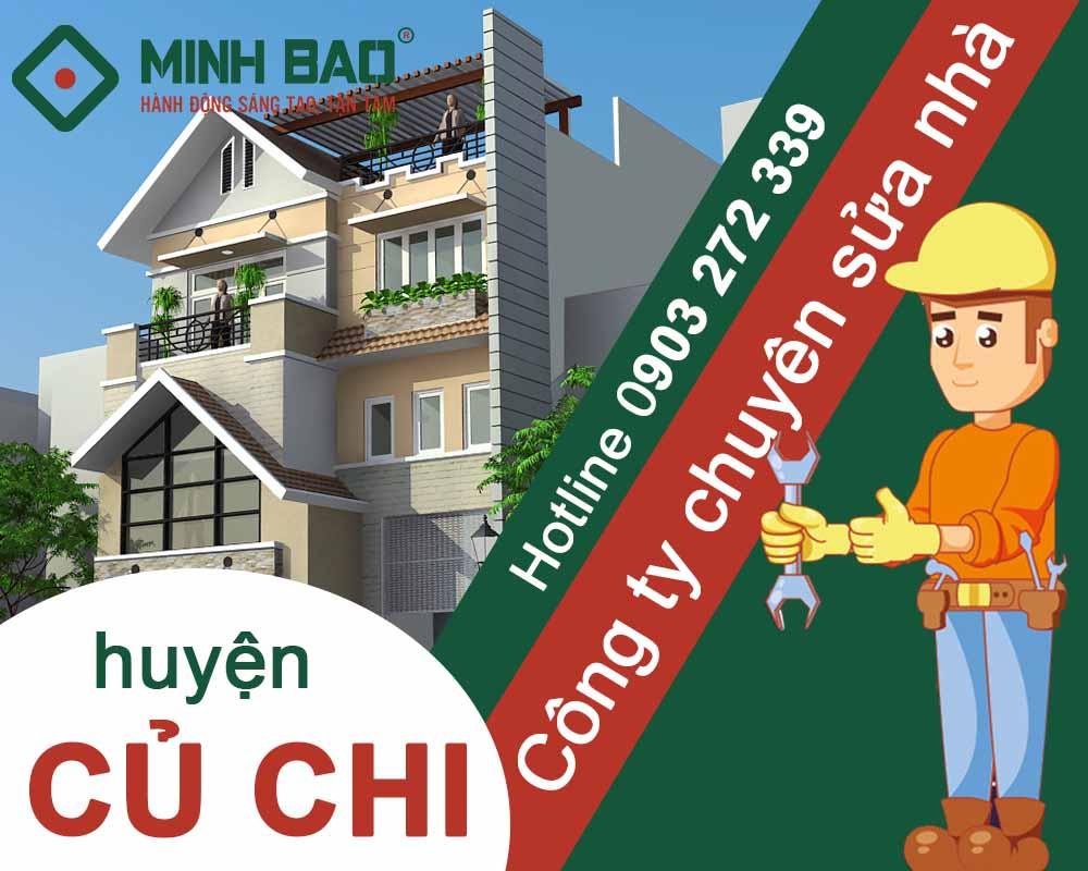 Công ty chuyên sửa nhà huyện Củ Chi