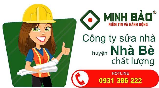 Công ty sửa nhà huyện Nhà Bè chất lượng