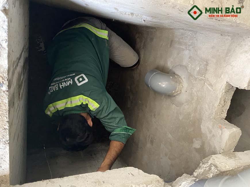 công nhân xây dựng Minh Bảo