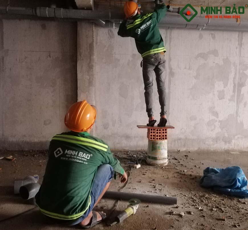 Công nhân Minh Bảo