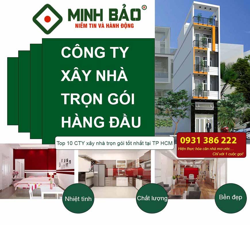 Minh Bảo - Công ty xây dựng hàng đầu HCM