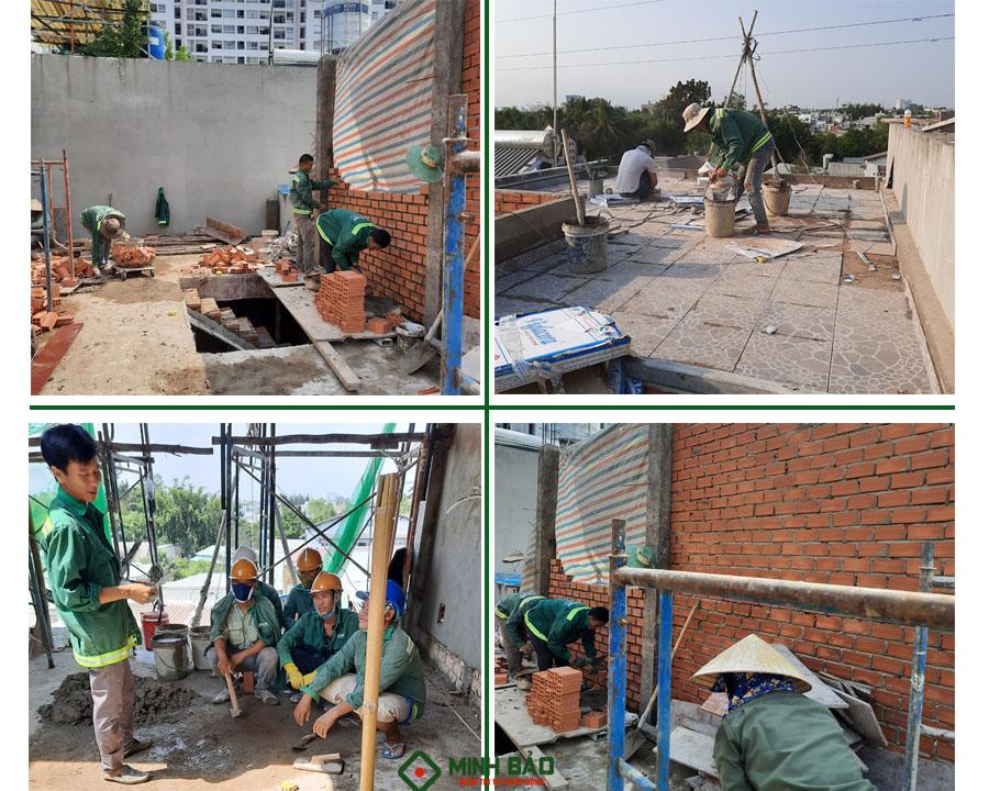 Công nhân xây dựng
