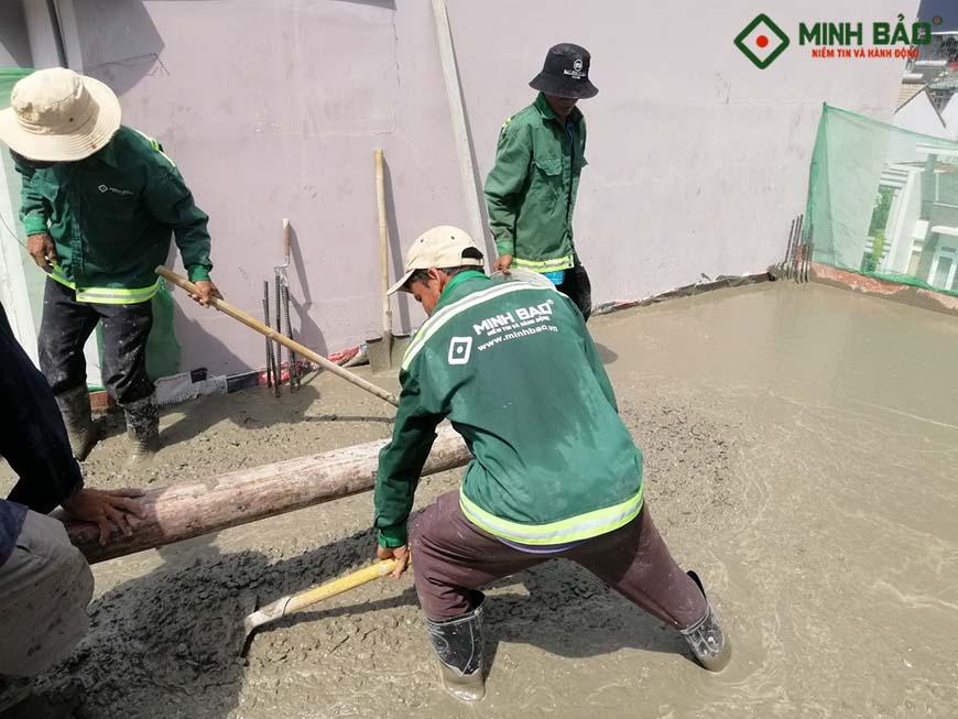 Thi công đổ bê tông công trình