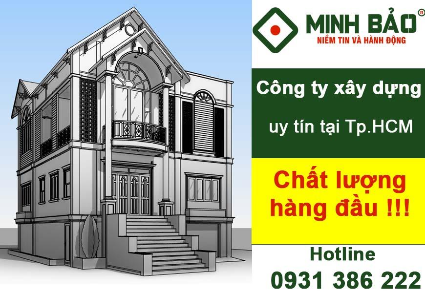 Công ty xây dựng nhà ở Tp.HCM