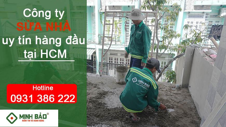 Dịch vụ sửa nhà tại TP. HCM