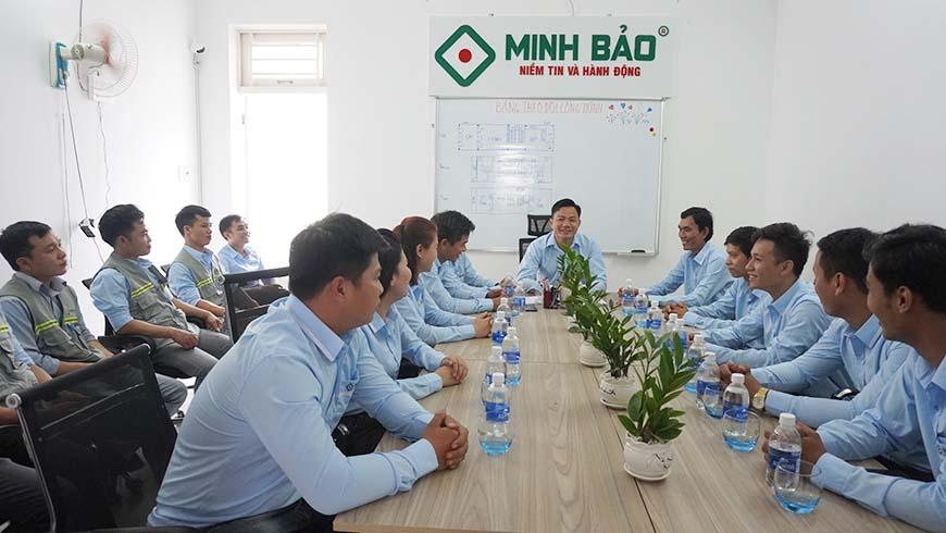 Họp định kỳ 6 tháng đầu năm Minh Bảo