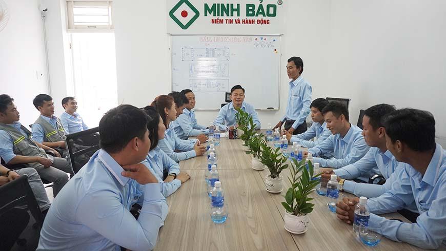 hop dinh ky 6 thang dau nam cong ty Minh Bao