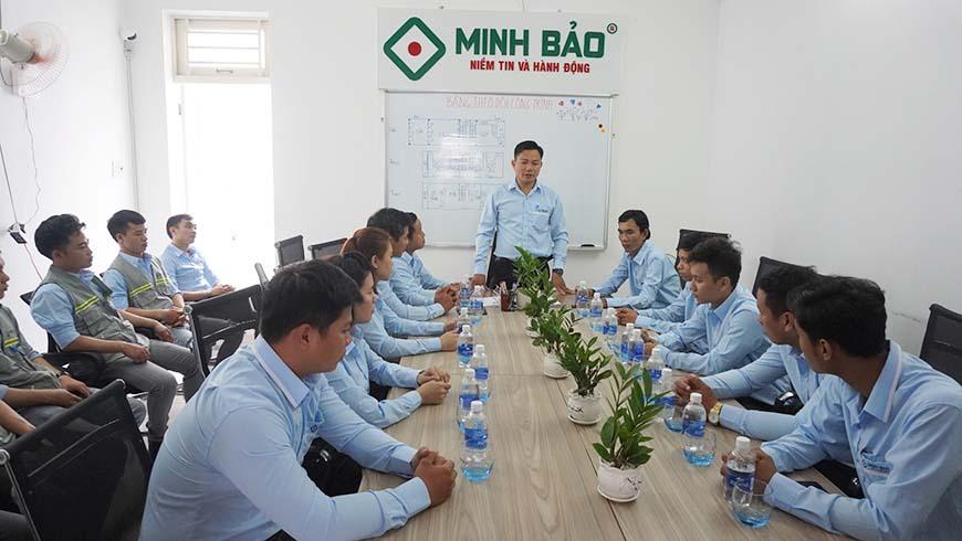 hop dinh ky 6 thang dau nam công ty Minh Bảo