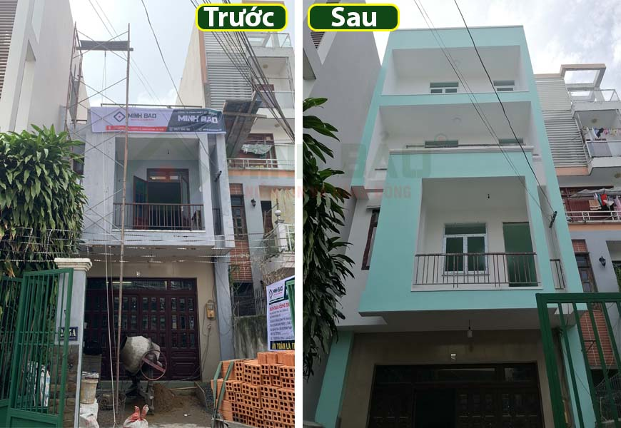 nâng tầng sửa nhà