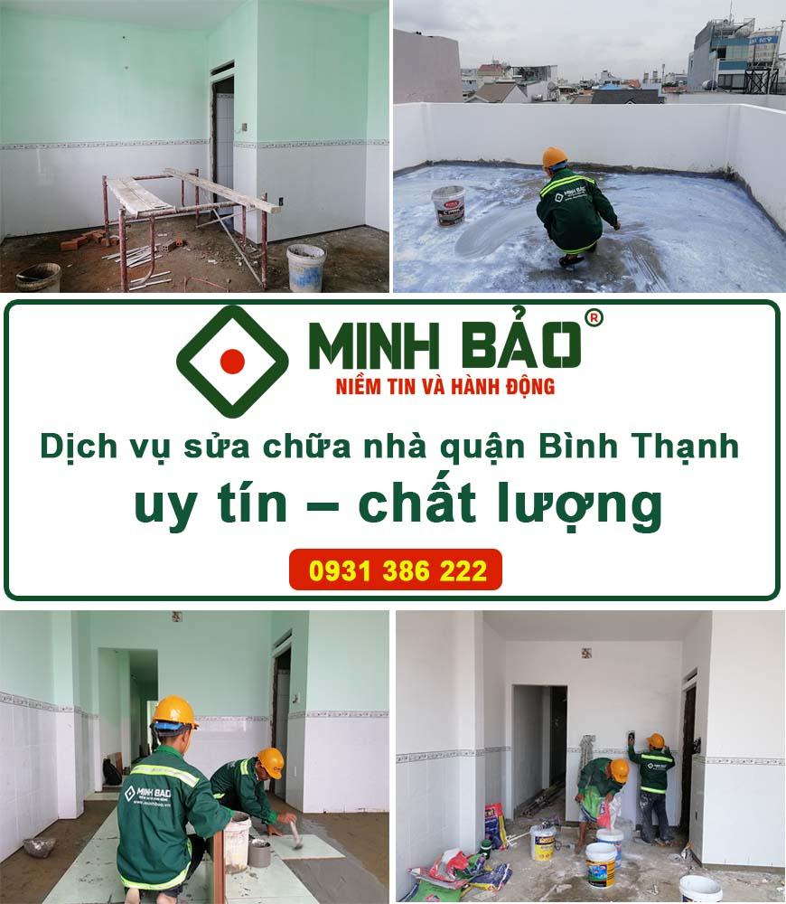 Sửa nhà quận Bình Thạnh uy tín - chất lượng