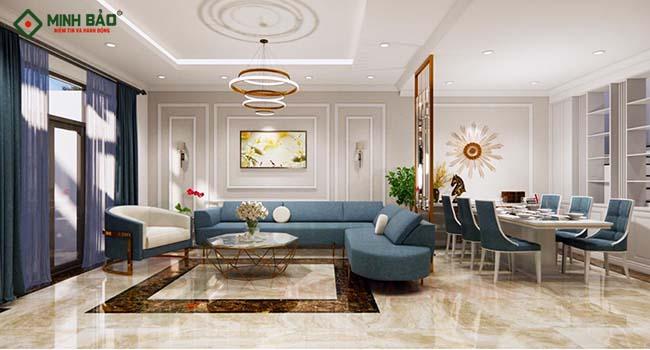 Thiết kế nội thất nhà phố hiện đại khiến gia chủ mê mẩn
