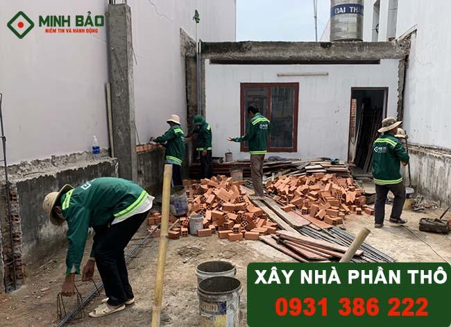Hạng mục công việc và các yếu tố ảnh hưởng tới giá xây nhà phần thô
