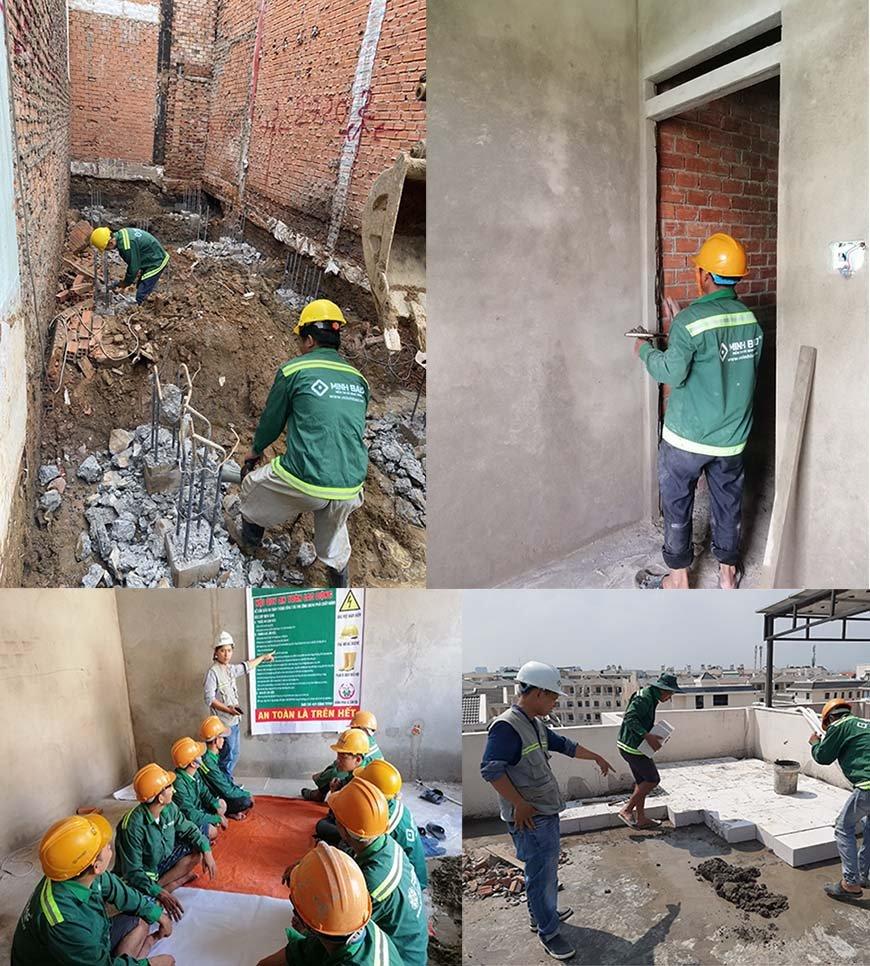 hoạt động xây dựng