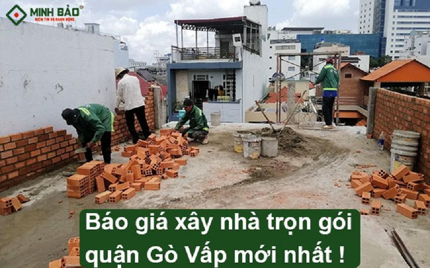 giá xây nhà quận Gò Vấp