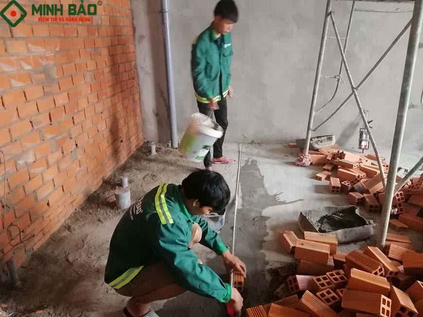 giá xây nhà trọn gói quận Tân Phú