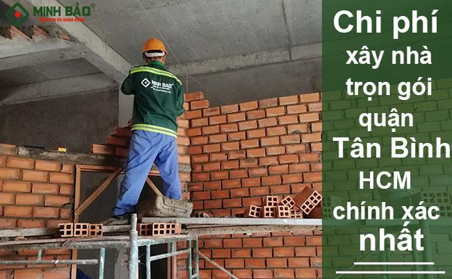 Đơn giá xây nhà trọn gói quận Tân Bình