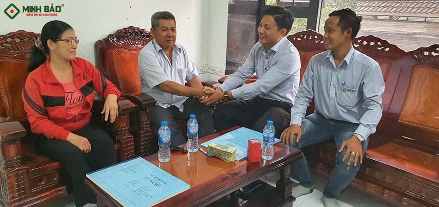 giá xây nhà huyện Bình Chánh