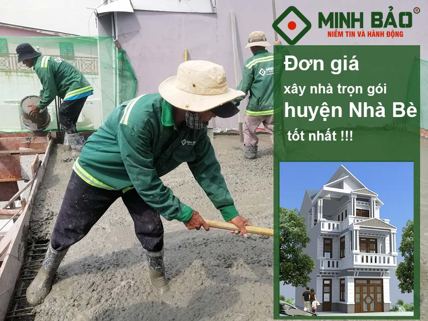 giá xây nhà huyện Nhà Bè