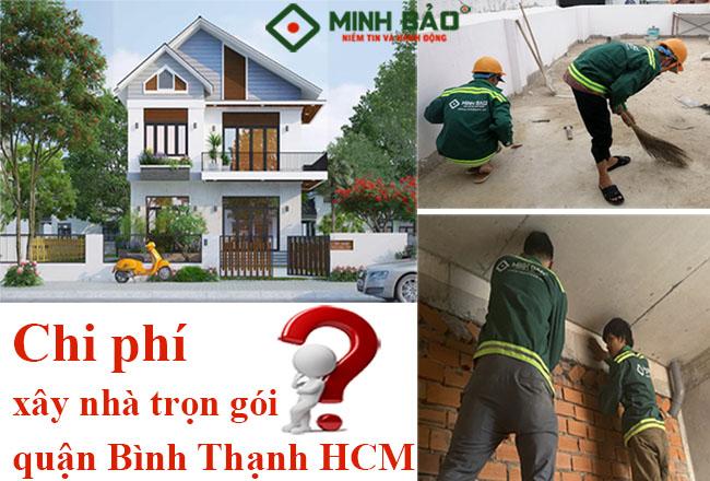 Đơn giá xây nhà trọn gói quận Bình Thạnh mới nhất
