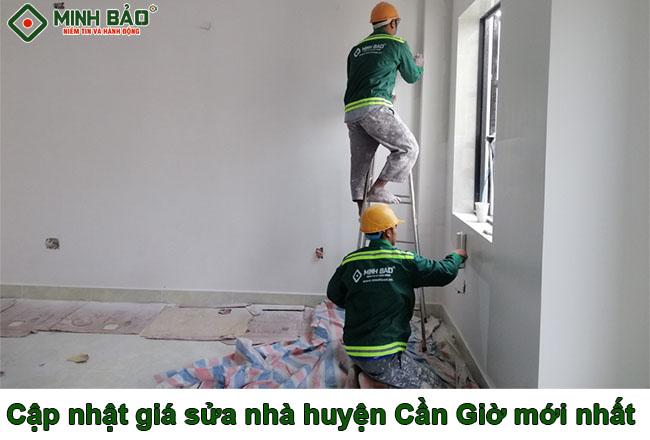 Báo Giá Sửa Nhà Huyện Cần Giờ HCM