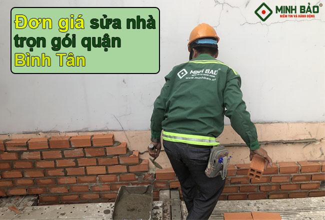 Báo Giá Sửa Chữa Công Ty Xây Dựng Quận Bình Tân