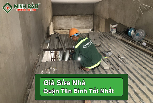 Báo Giá Sửa Nhà Trọn Gói Quận Tân Bình