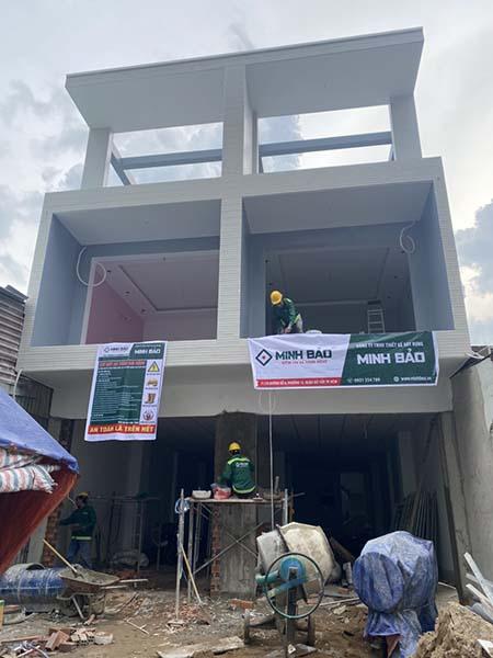 xây nhà mới