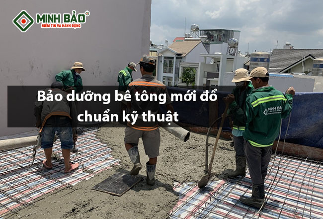 Hướng dẫn cách bảo dưỡng bê tông mới đổ đúng kỹ thuật