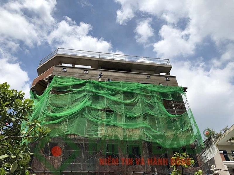 dự án xây nhà phần thô lớn