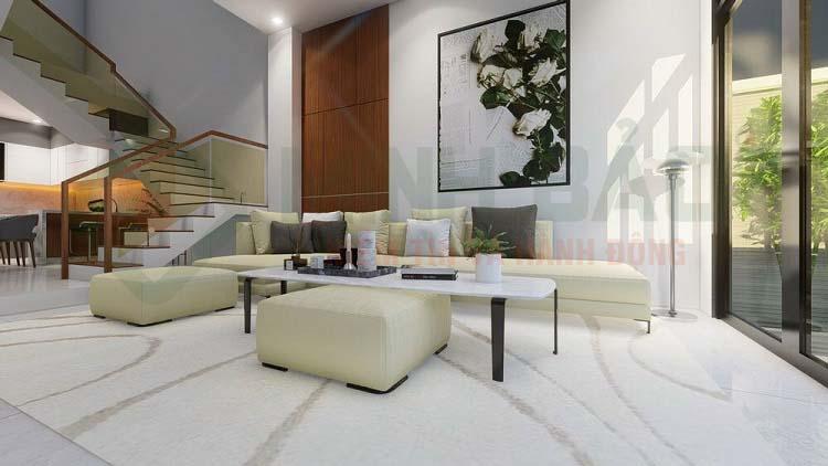 hình 3D phòng khách