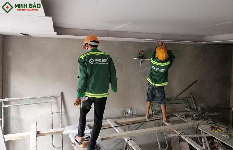 sửa nhà đóng trần thạch cao