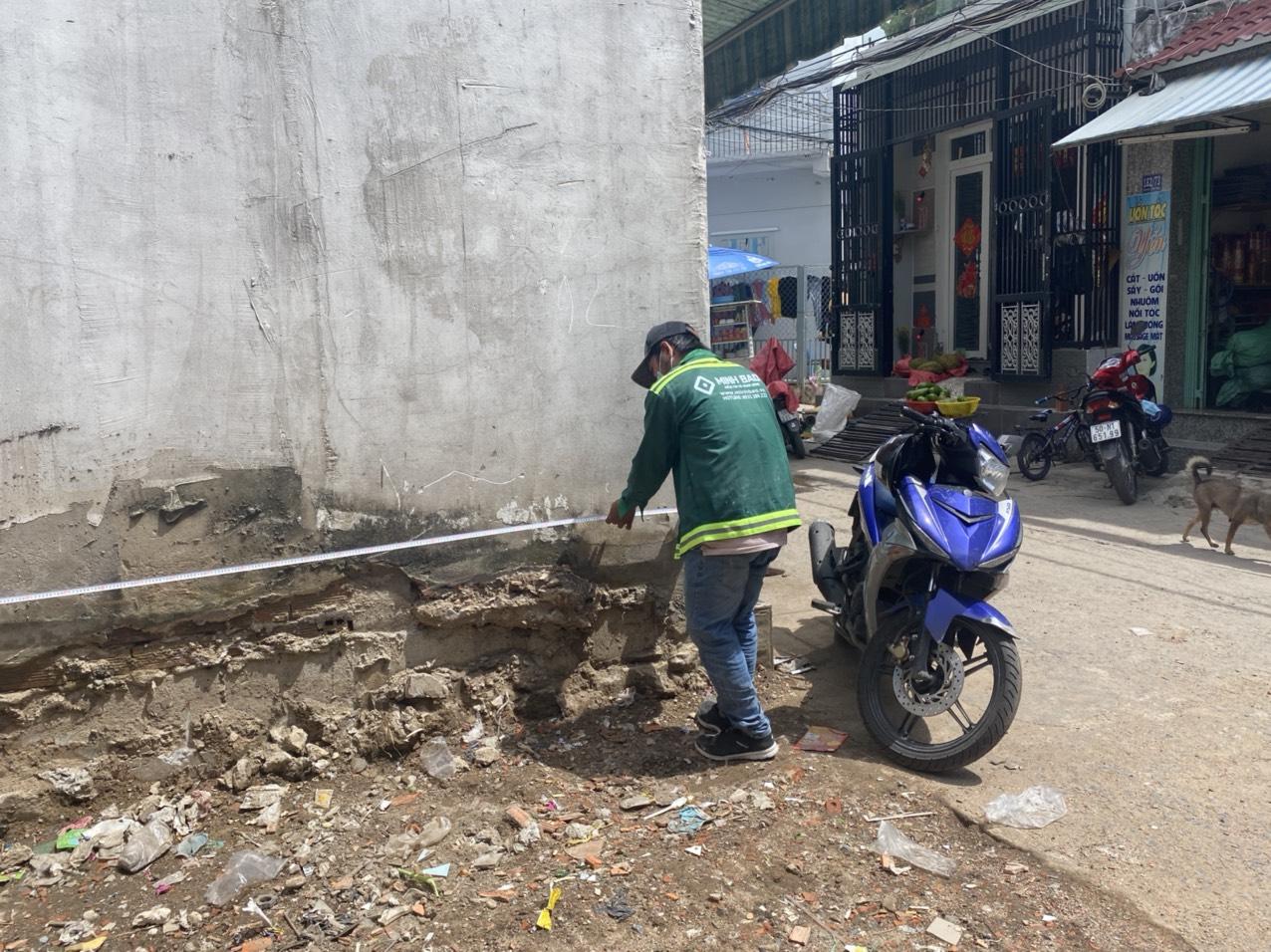 khảo sát của công ty xây dựng Minh Bảo