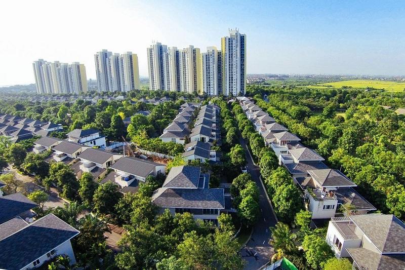 mật độ xây dựng khu đô thị