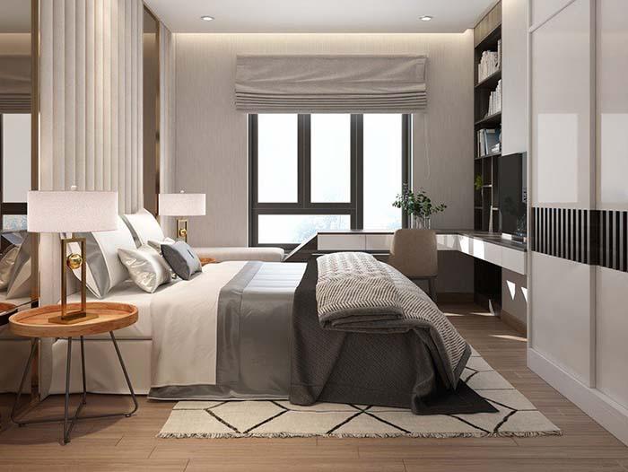 Cửa sổ phòng ngủ giúp lưu thông không khí trong phòng
