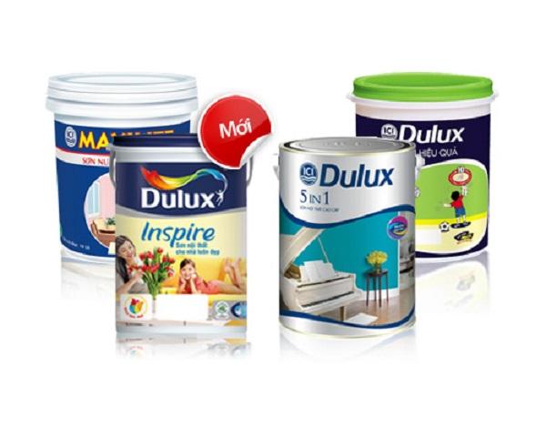 sơn Dulux thường xuyên được sử dụng trong sơn nhà