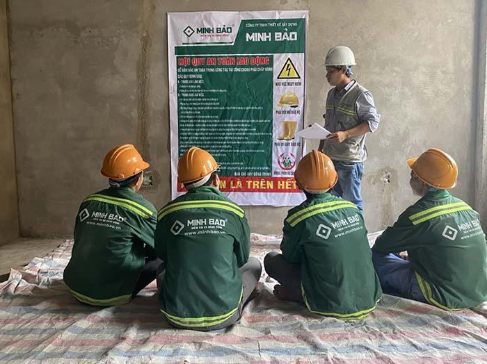 Minh Bảo cam kết an toàn lao động