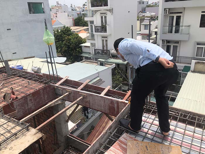 Xây Dựng Minh Bảo kiểm tra công trình thường xuyên